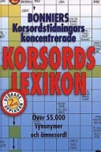 Bonniers korsordstidningars koncentrerade korsordslexikon