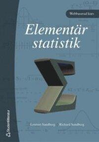 Elementär statistik - (bok + digital produkt)