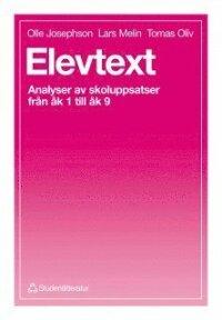 Elevtext - Analyser av skoluppsatser från åk 1 till åk 9