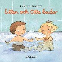 Ellen och Olle badar (e-bok)
