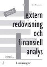 Extern redovisning och finansiell analys, lösningar