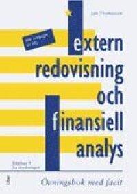 Extern redovisning och finansiell analys: övningsbok