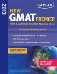 Kaplan GMAT Premier with 5 Online Practice Tests