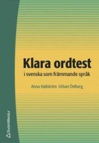 Klara ordtest i svenska som främmande språk