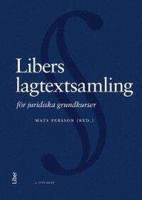 Libers lagtextsamling för juridiska grundkurser