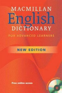 Macmillan English Dictionary for Advanced Learners (Paperback)+Cd