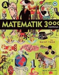 Matematik 3000 för komvux: Komvux kurs A lärobok