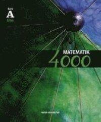 Matematik 4000 kurs A Grön lärobok