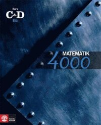 Matematik 4000 Kurs CD Blå Lärobok