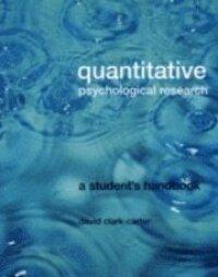 Quantitative Psychological Research Textbook
